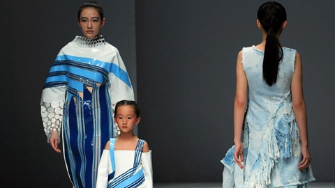 Creations designed by graduates staged at China Graduate Fashion Week
