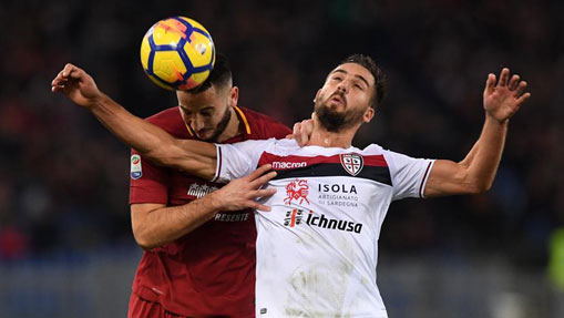 Roma defeats Cagliari 1-0 in Serie A match