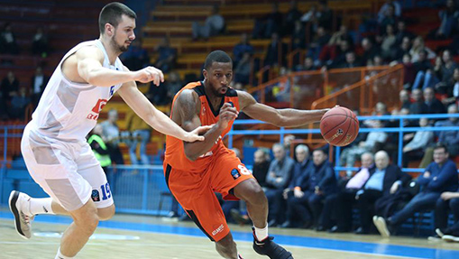 Buducnost Voli defeat Cedevita Zagreb 78-75 at EuroCup Top 16 basketball match