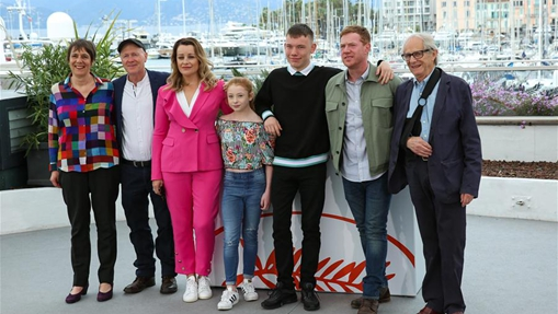 "In pics: photocall for film ""Sorry We Missed You"" at 72nd Cannes Film Festival"