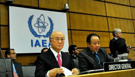 UN nuclear chief urges Iran to addaress bomb concerns
