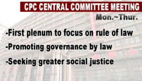 Rule of law, social justice high on agenda of CPC session