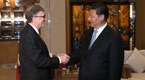 President Xi meets with Bill Gates