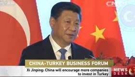 Xi Jinping: China will encourage more companies to invest in Turkey