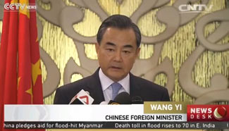 Wang Yi: China committed to peace, stability in South China Sea