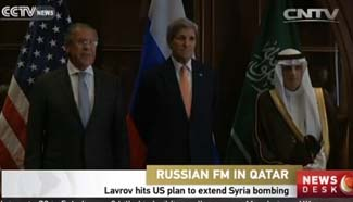 Lavrov condemns U.S. plan to extend Syria bombing