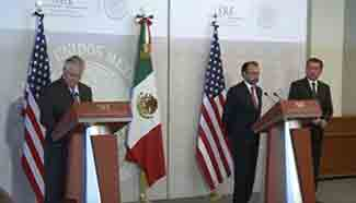 Mexico-U.S. ties going through rough patch