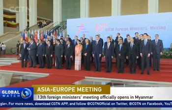 13th Asian-European foreign ministers' meeting opens in Myanmar