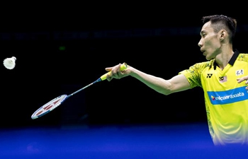 Lee Chong Wei wins men's singles first round match at Badminton Asia Championships