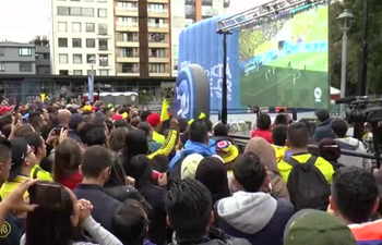 Japan beats Colombia 2-1, Colombian fans remain optimistic