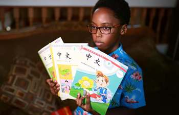Feature: African-American boy finds fun, future in Chinese culture
